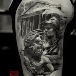 Greek Tattoo 12 150x150 - Greek Tattoos Design Ideas Pictures Gallery