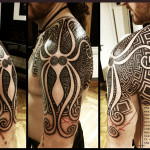 Greek Tattoo 6 150x150 - Greek Tattoos Design Ideas Pictures Gallery