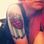 Green Day Tattoos 8 150x150 - Green Day Tattoos Design Ideas Pictures Gallery