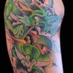 Green Tattoos 10 150x150 - Green Tattoos Design Ideas Pictures Gallery