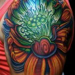 Green Tattoos 13 150x150 - Green Tattoos Design Ideas Pictures Gallery