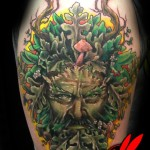 Green Tattoos (4)