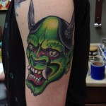 Green Tattoos 6 150x150 - Green Tattoos Design Ideas Pictures Gallery