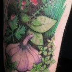 Green Tattoos 8 150x150 - Green Tattoos Design Ideas Pictures Gallery
