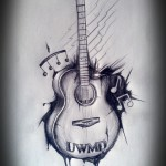 Guitar Tattoos 3 150x150 - Guitar Tattoos Design Ideas Pictures Gallery