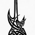 Guitar Tattoos 4 150x150 - Guitar Tattoos Design Ideas Pictures Gallery