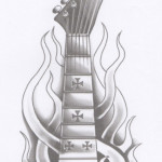Guitar Tattoos 7 150x150 - Guitar Tattoos Design Ideas Pictures Gallery