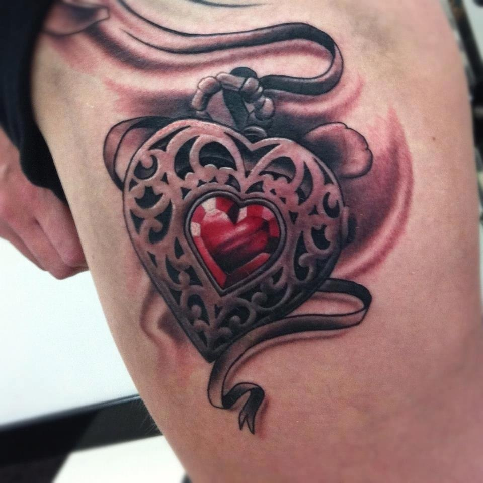 Heart Tattoos Design Ideas Pictures Gallery