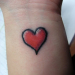 Heart Tattoos 14 150x150 - Heart Tattoos Design Ideas Pictures Gallery