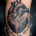 Heart Tattoos 2 150x150 - Heart Tattoos Design Ideas Pictures Gallery