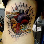 Heart Tattoos 4 150x150 - Heart Tattoos Design Ideas Pictures Gallery