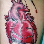 Heart Tattoos 8 150x150 - Heart Tattoos Design Ideas Pictures Gallery