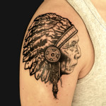 Indian Tattoos 5 150x150 - Indian Tattoos Design Ideas Pictures Gallery