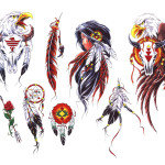 Indian Tattoos 8 150x150 - Indian Tattoos Design Ideas Pictures Gallery