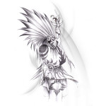 Indian Tattoos 9 150x150 - Indian Tattoos Design Ideas Pictures Gallery