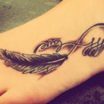 Infinity Tattoos 13 150x150 - Infinity Tattoos Design Ideas Pictures Gallery