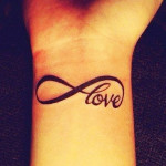 Infinity Tattoos 3 150x150 - Infinity Tattoos Design Ideas Pictures Gallery