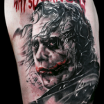 Joker Tattoos 1 150x150 - Joker Tattoos Design Ideas Pictures Gallery