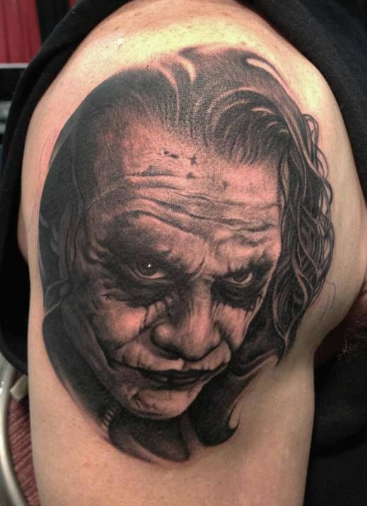 Joker Tattoos Design Ideas Pictures Gallery