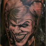 Joker Tattoos 10 150x150 - Joker Tattoos Design Ideas Pictures Gallery
