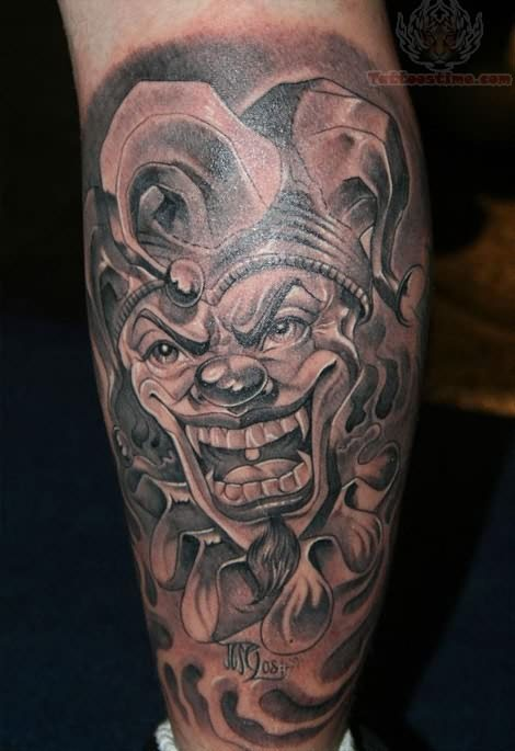 joker tattoos design ideas pictures gallery. Black Bedroom Furniture Sets. Home Design Ideas