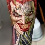 Joker Tattoos 2 150x150 - Joker Tattoos Design Ideas Pictures Gallery
