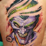 Joker Tattoos 4 150x150 - Joker Tattoos Design Ideas Pictures Gallery