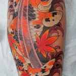 Koi Tattoos 11 150x150 - Koi Tattoos Design Ideas Pictures Gallery