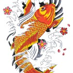Koi Tattoos 12 150x150 - Koi Tattoos Design Ideas Pictures Gallery