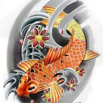 Koi Tattoos 3 150x150 - Koi Tattoos Design Ideas Pictures Gallery
