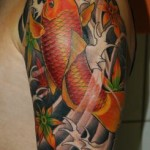 Koi Tattoos 5 150x150 - Koi Tattoos Design Ideas Pictures Gallery