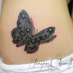 Lace Tattoos 10 150x150 - Lace Tattoos Design Ideas Pictures Gallery
