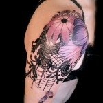 Lace Tattoos 13 150x150 - Lace Tattoos Design Ideas Pictures Gallery