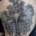 Lace Tattoos 14 150x150 - Lace Tattoos Design Ideas Pictures Gallery