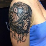 Lace Tattoos 4 150x150 - Lace Tattoos Design Ideas Pictures Gallery