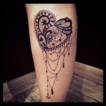 Lace Tattoos 5 150x150 - Lace Tattoos Design Ideas Pictures Gallery