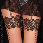 Lace Tattoos 8 150x150 - Lace Tattoos Design Ideas Pictures Gallery