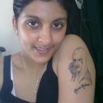 Lady Gaga Tattoos 14 150x150 - Lady Gaga Tattoos Design Ideas Pictures Gallery