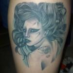Lady Gaga Tattoos 6 150x150 - Lady Gaga Tattoos Design Ideas Pictures Gallery