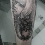 Lady Gaga Tattoos (8)