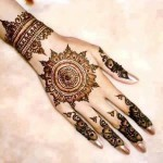 Latest New Year Mehndi Designs 2014 for Women 6 150x150 - Mehndi Designs Ideas Pictures Gallery