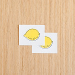 Lemon Tattoos 12 150x150 - Lemon Tattoos Design Ideas Pictures Gallery
