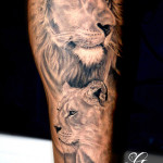 Lion Tattoos (1)