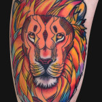 Lion Tattoos 11 150x150 - Lion Tattoos Design Ideas Pictures Gallery