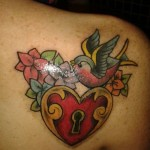 Lock Tattoos (1)