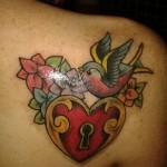 Lock Tattoos (1)