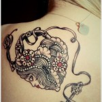 Lock Tattoos 12 150x150 - Lock Tattoos Design Ideas Pictures Gallery