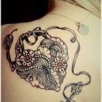 Lock Tattoos 12 150x150 - Lock Tattoos Design Ideas Pictures Gallery