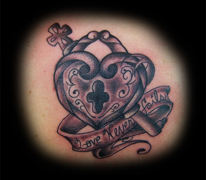 Lock Tattoos Design Ideas Pictures Gallery