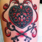 Lock Tattoos 2 150x150 - Lock Tattoos Design Ideas Pictures Gallery